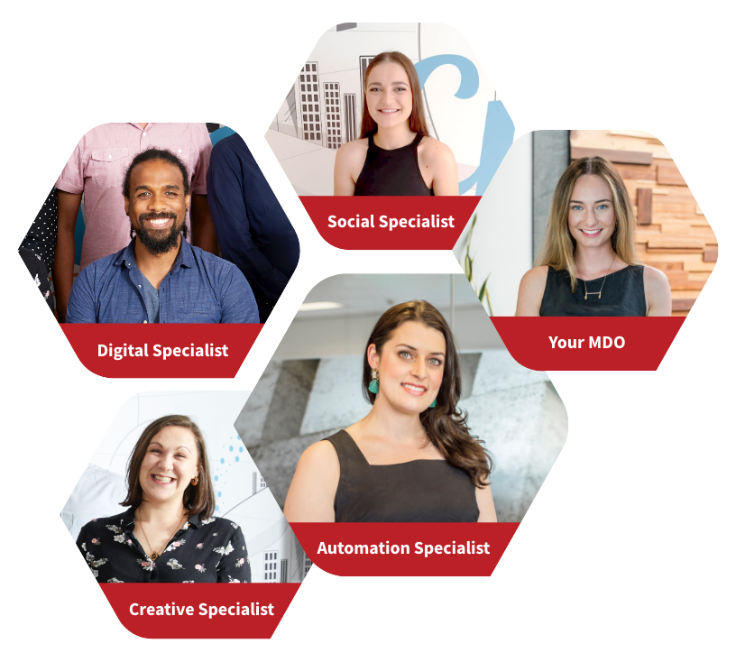 A list of Roobix specialist that they are providing with specialist images, against a white background.