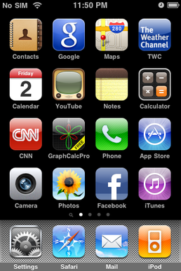 The brilliant UX of the early iPhone